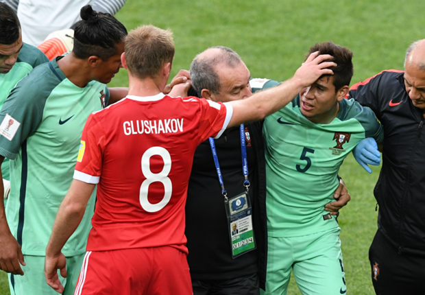 Portugal fear broken leg for Raphael Guerreiro