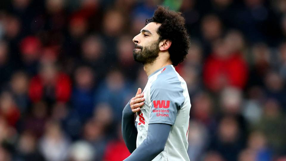 Mohamed Salah Liverpool Bournemouth 081218