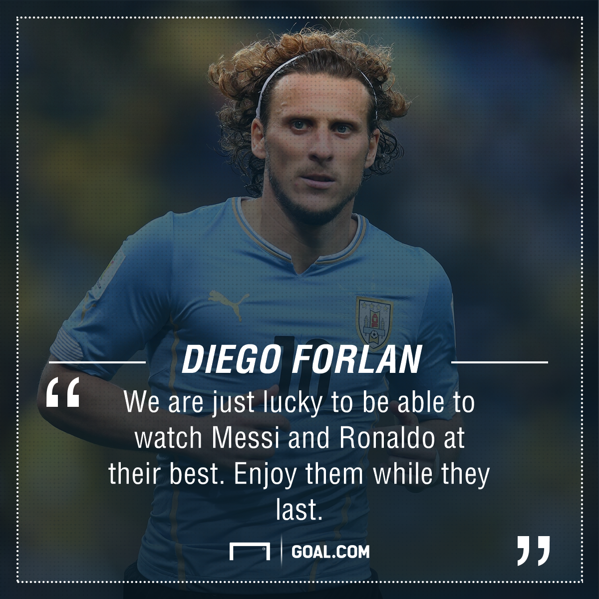 Diego Forlan Messi Ronaldo PS