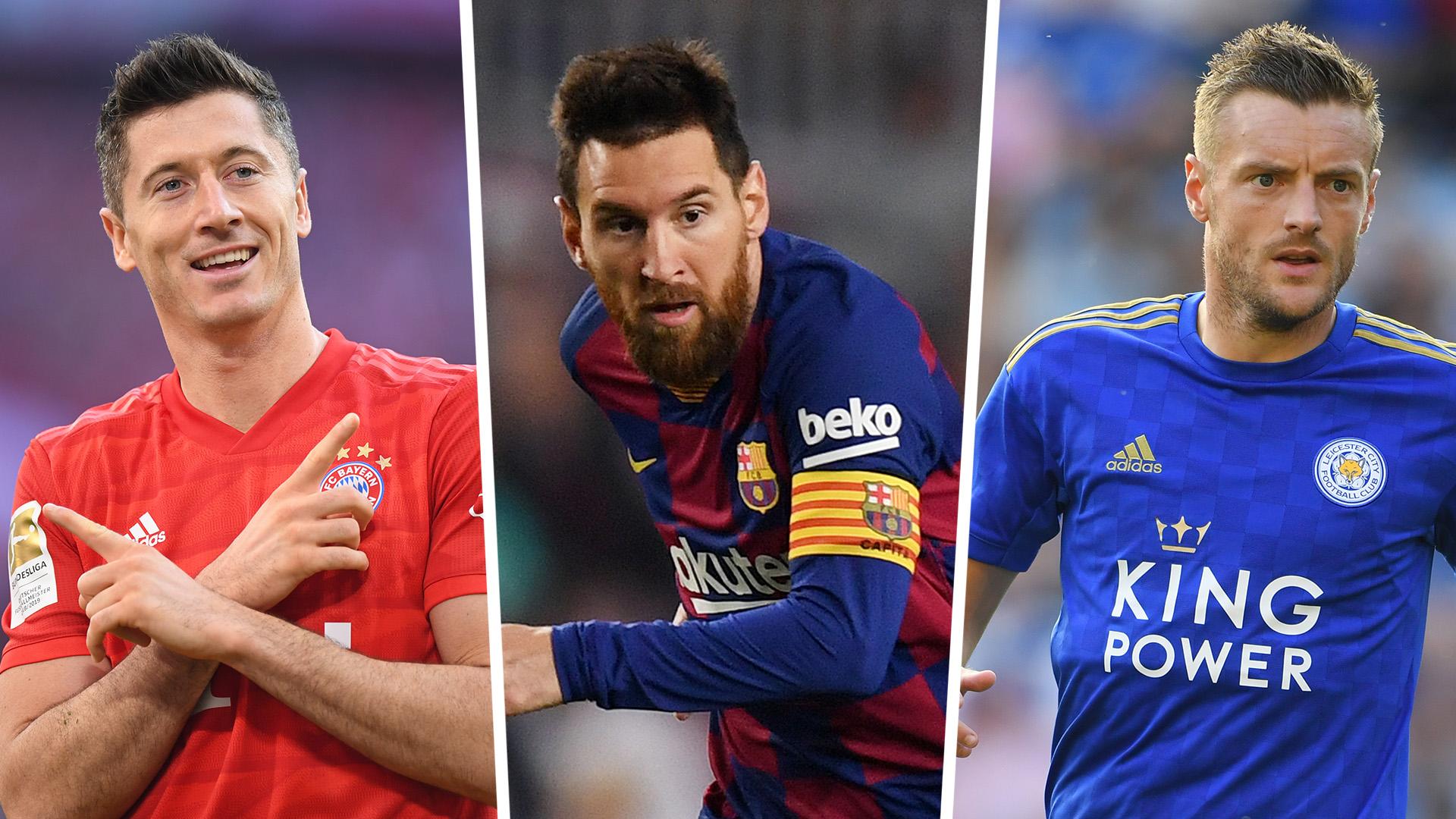 Golden Shoe 2019-20: Messi, Lewandowski & Europe's top scorers