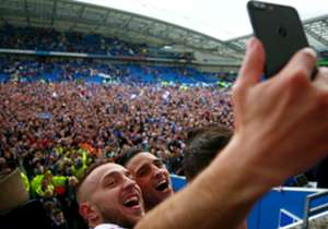Brighton & Hove Albion | El triunfo sobre Wigan fue la firma para el retorno a la Premier League, 34 años después.