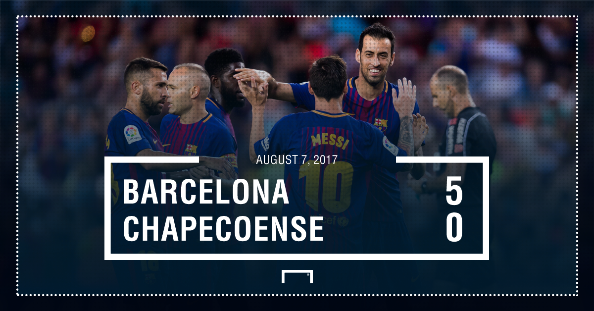 Barca Chape score