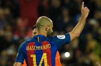 Mascherano ends incredible scoring drought for Barcelona