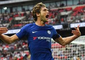 Marcos Alonso entschied mit seinen zwei Treffern für Chelsea das Derby gegen Tottenham. Doch wer waren die zehn torgefährlichsten Linksverteidiger der Saison 2016/2017 in den fünf Top-Ligen Europas (Premier League, LaLiga, Bundesliga, Serie A, Ligue 1)?