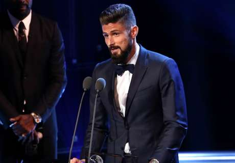 Gol Kalajengking Giroud Menangkan Puskas Award