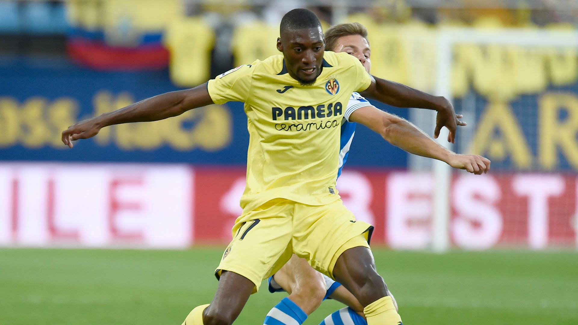 Villarreal striker Toko Ekambi scoops La Liga award