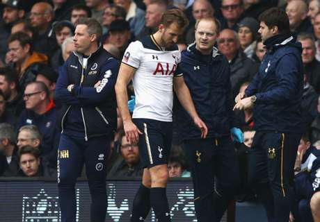 Kane forced off with ankle injury