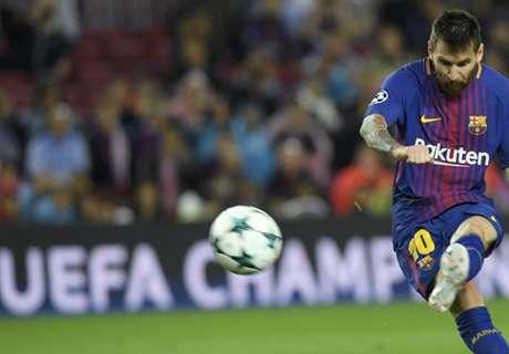 Los 100 goles de Messi en Europa