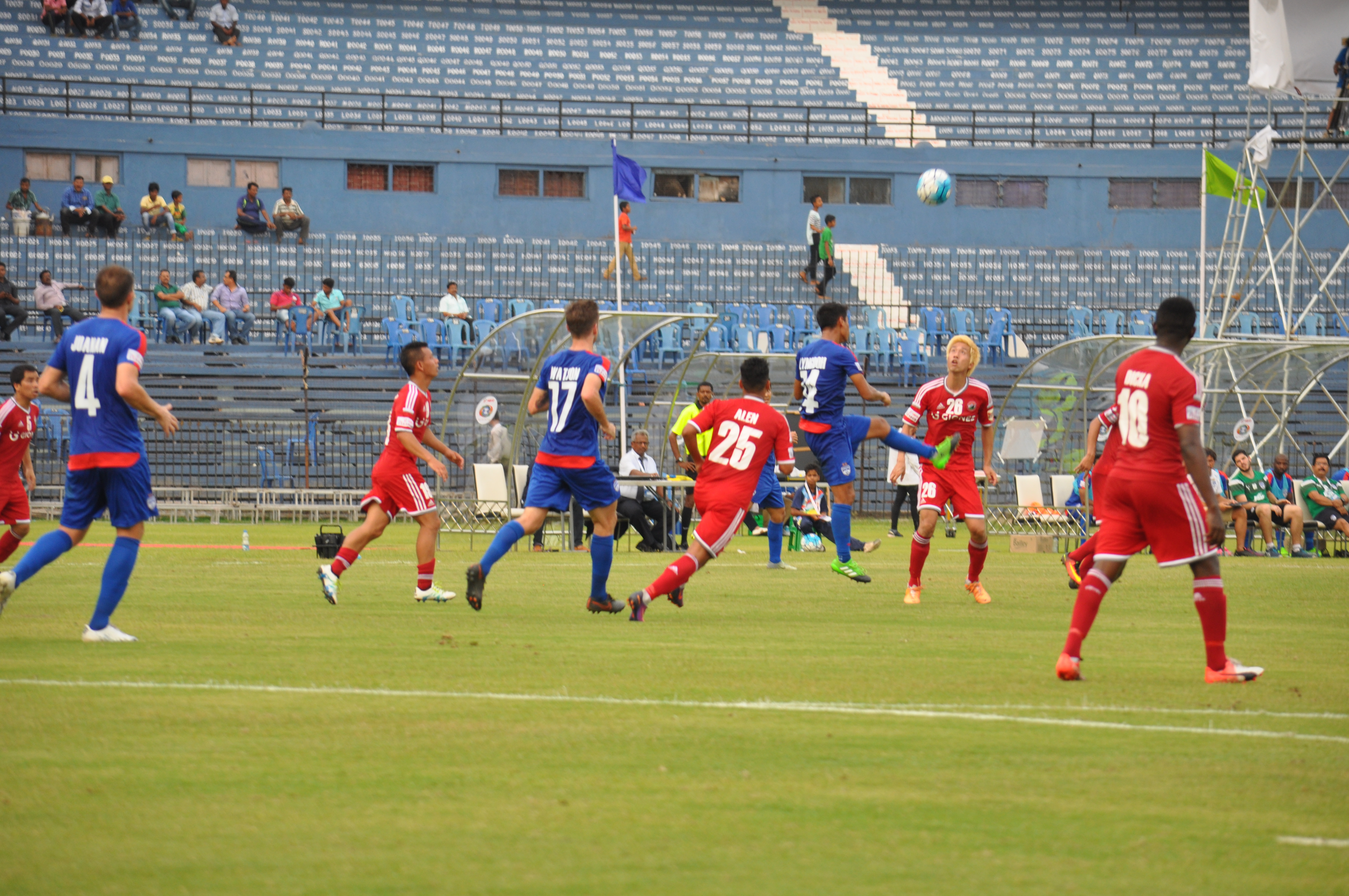 FIFA president congratulates Aizawl FC on I-League win