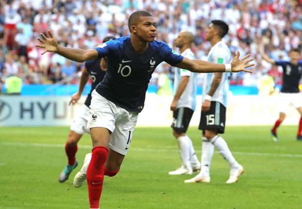 Image result for ฝรั่งเศสเฉือน 4-3 เขี่ยอาร์เจนตินาตกรอบ