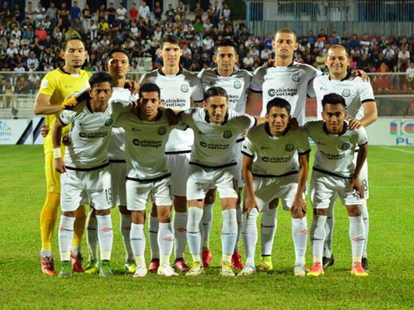 Terengganu first eleven against PDRM 27/1/2017