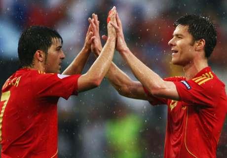 Los máximos goleadores de España