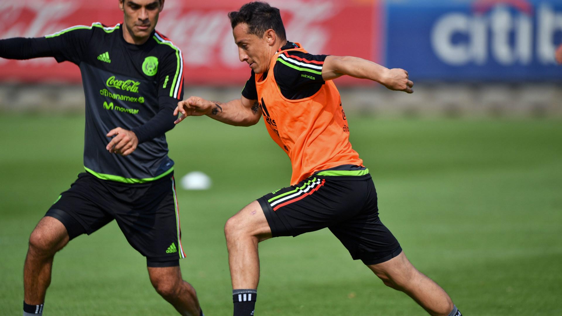 Rafa Marquez Andres Guardado Mexico