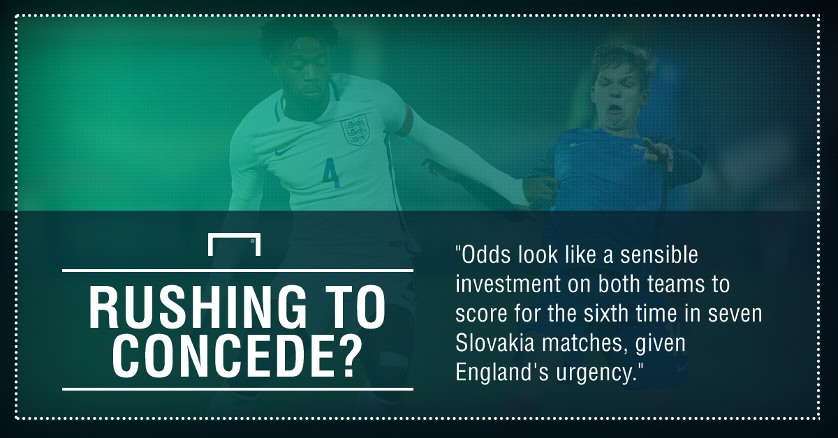 GFX England Slovakia U-21 betting