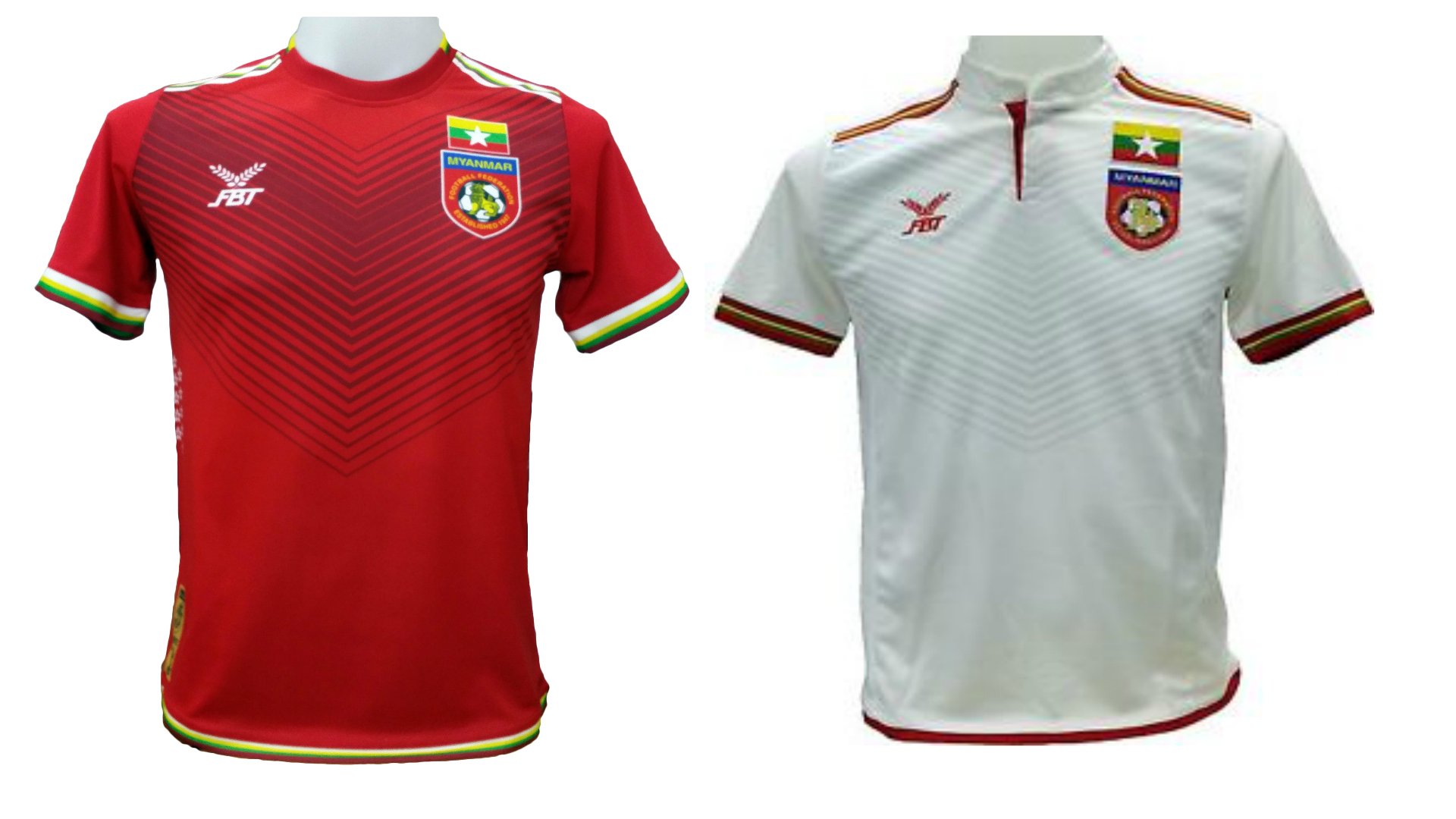 Myanmar home and away
