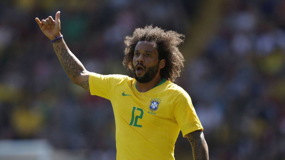 Marcelo Brazil Croatia Friendlies 03062018
