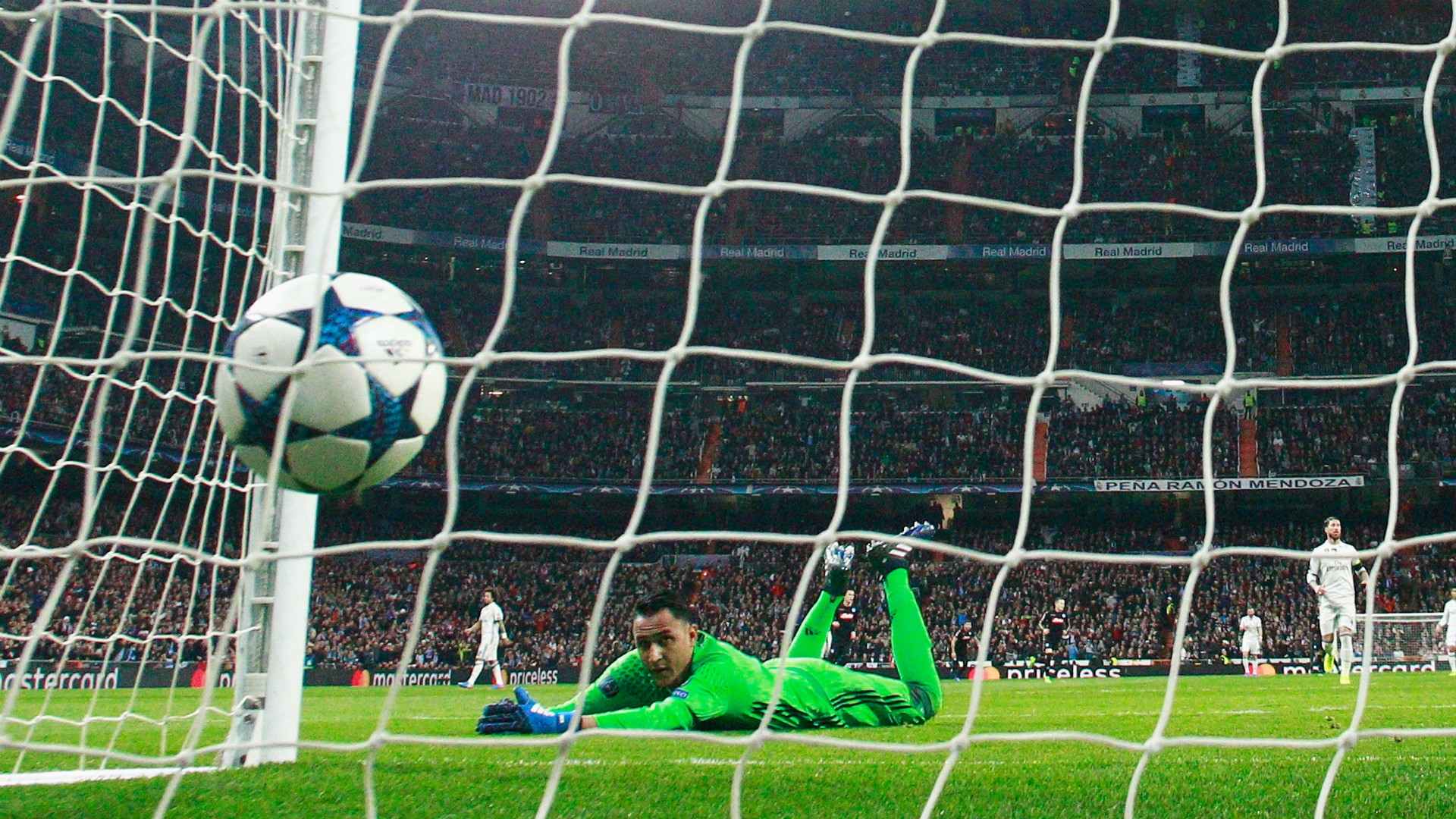 Keylor Navas Real Madrid Champions League