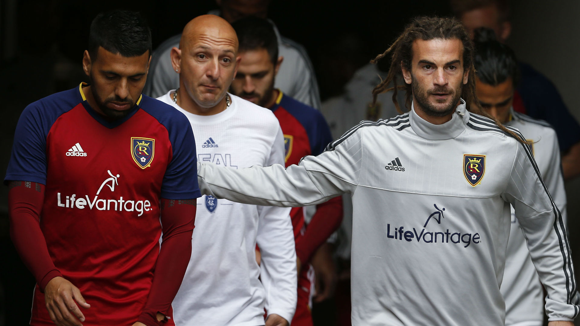Javier Morales Kyle Beckerman Real Salt Lake MLS