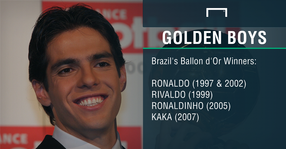 Brazil's Ballon d'Or winners PS