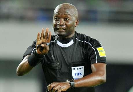 Did referee headbutt Angolan player?