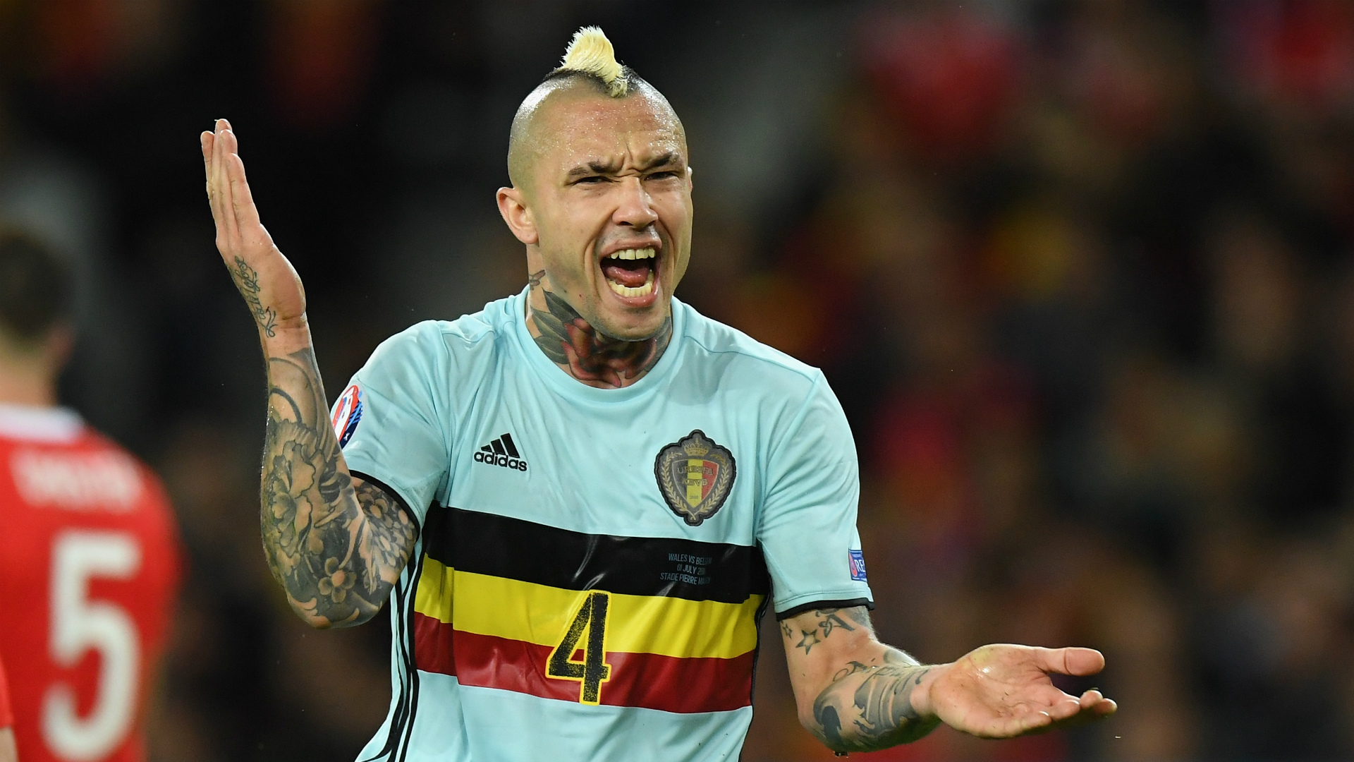 I was about to explode Nainggolan hits out at Belgium after