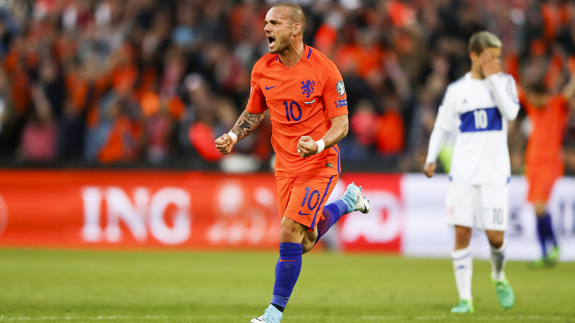 Wesley Sneijder, NED-LUX, 09062017