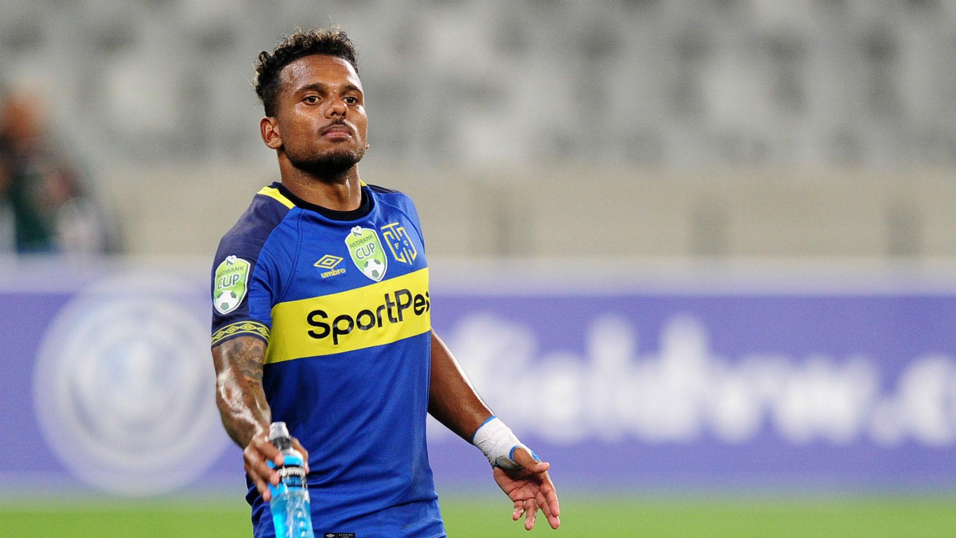 Cape Town City striker Kermit Erasmus surprised by Bafana Bafana call-up