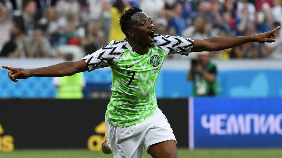 Ahmed Musa Nigeria Iceland World Cup 2018