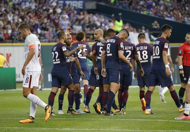Paris Saint-Germain 1 Roma 1 Maç Özeti Ve Golleri 22 Temmuz