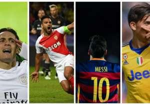 Après plus d'un mois de compétition, l'heure est aux premier bilans en Europe. À travers cette galerie, découvrons qui sont les attaquants qui présentent le meilleur ratio temps joué/buts marqués dans les championnats majeurs.