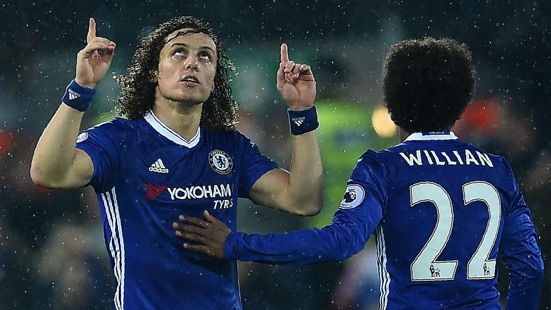 David Luiz Willian Chelsea