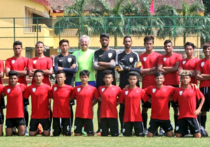 Luis Norton de Matos leads the brightest 21 young guns of the nation into its first ever FIFA competition's finals...