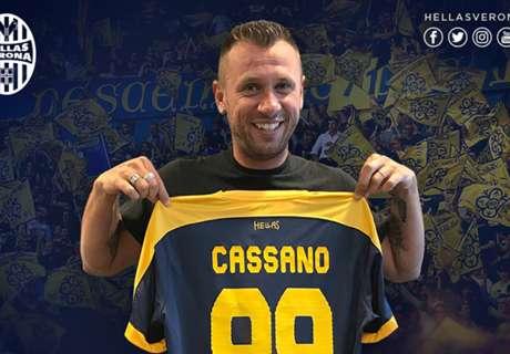 Cassano dice basta: