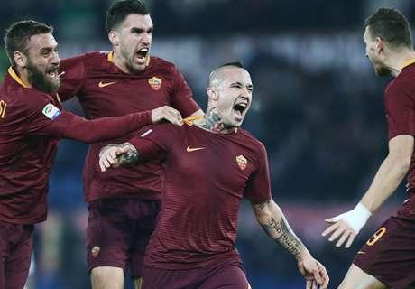 Serie A: Roma siegt im Top-Duell