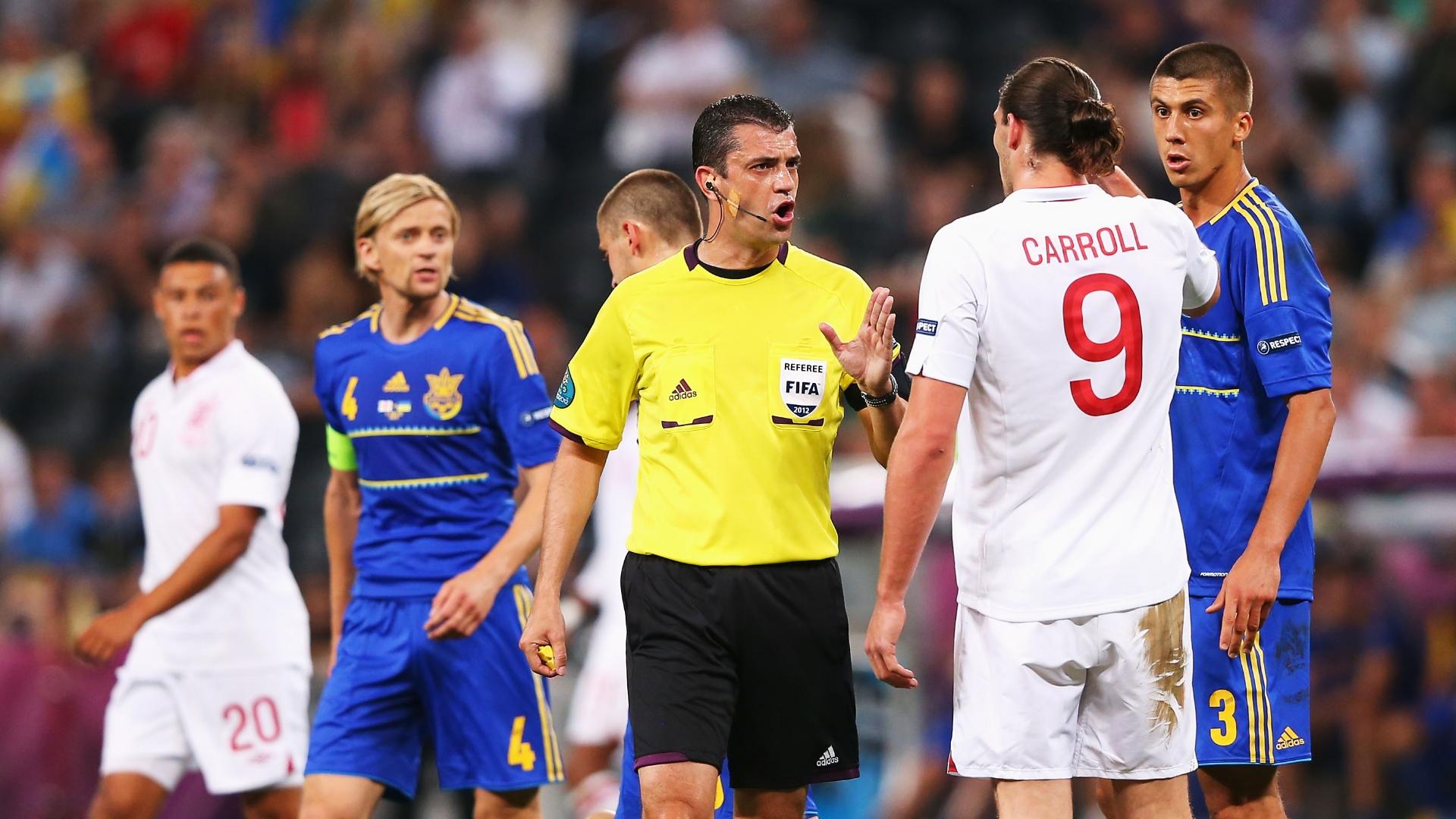 Viktor Kassai, England vs Ukraine