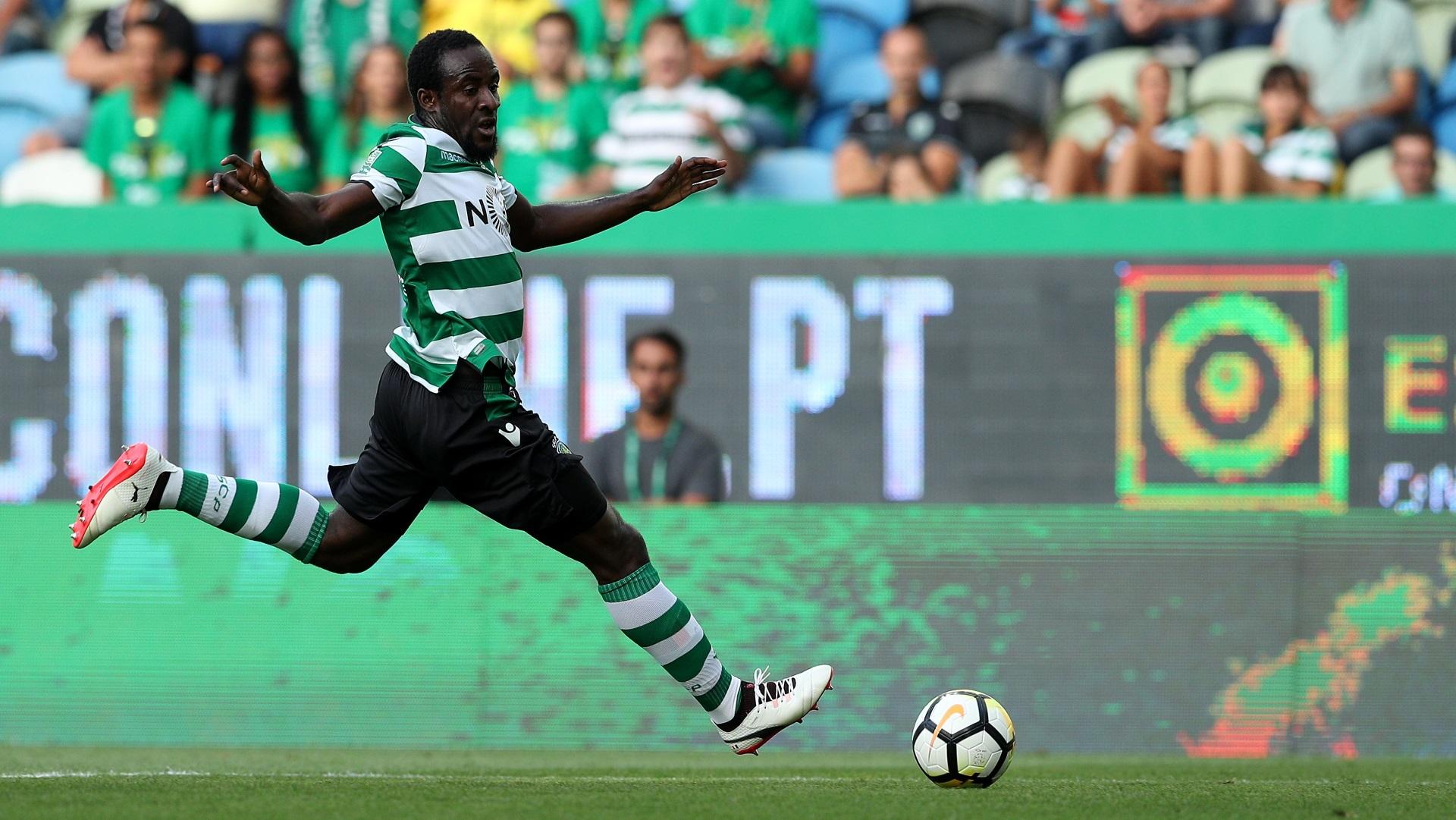 Seydou Doumbia of Sporting Lisbon