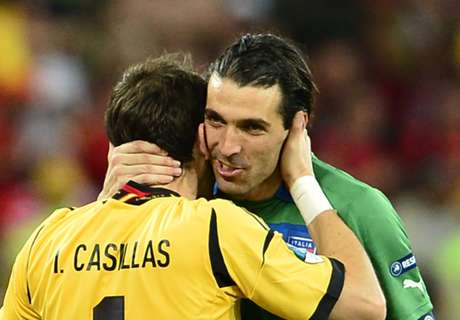 Casillas: Buffon one of the best ever