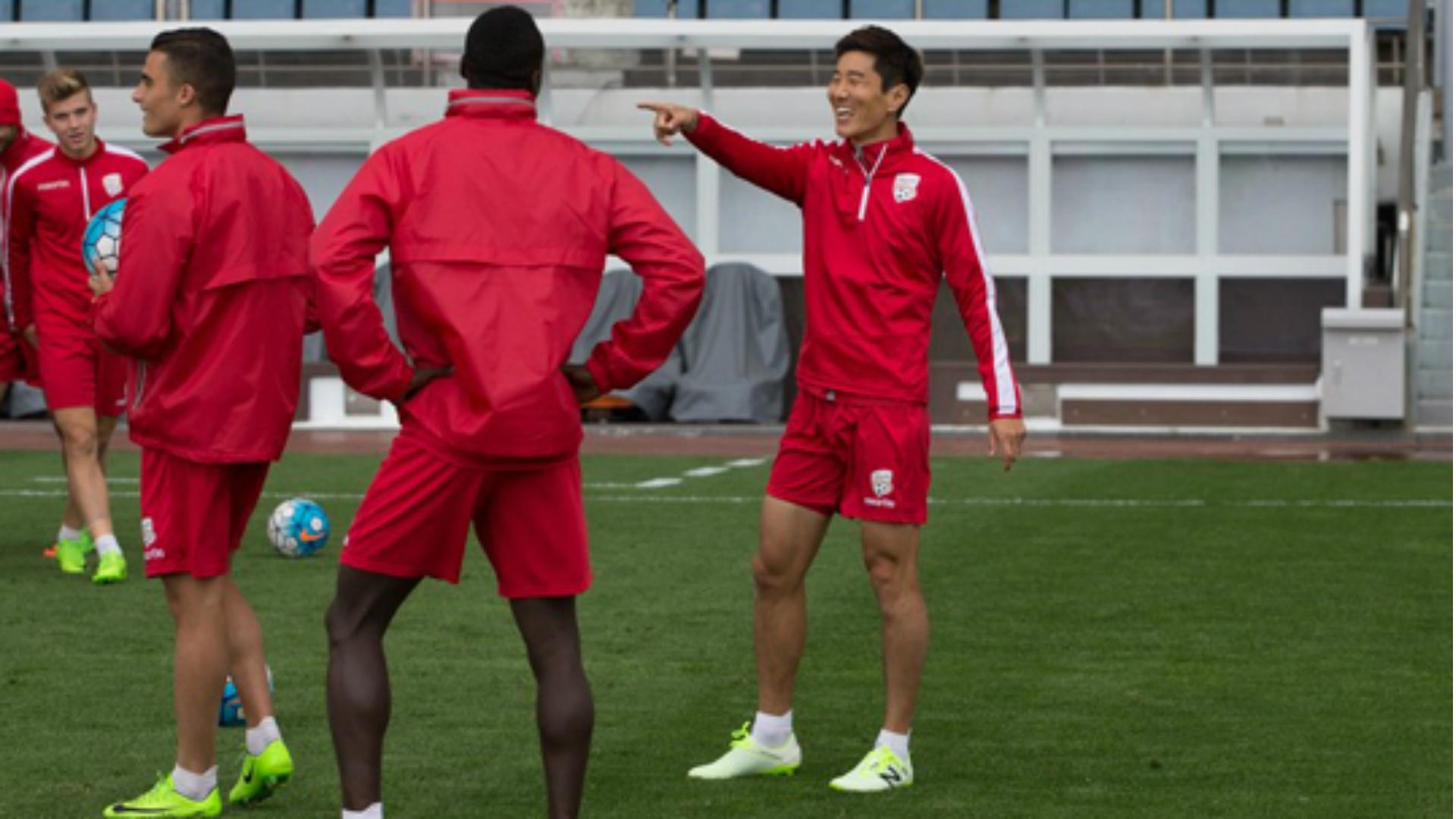 Kim Jae-sung Adelaide United AFC Champions League