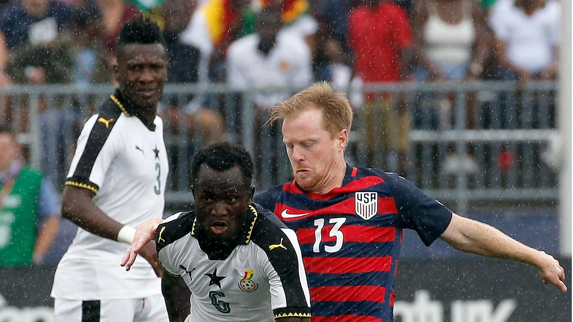 Dax McCarty Mohammed Abu USA Ghana