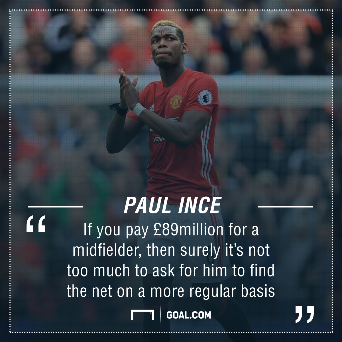 Pogba and Co. criticised for lack of goals as Man Utd urged to get A-listers by Ince