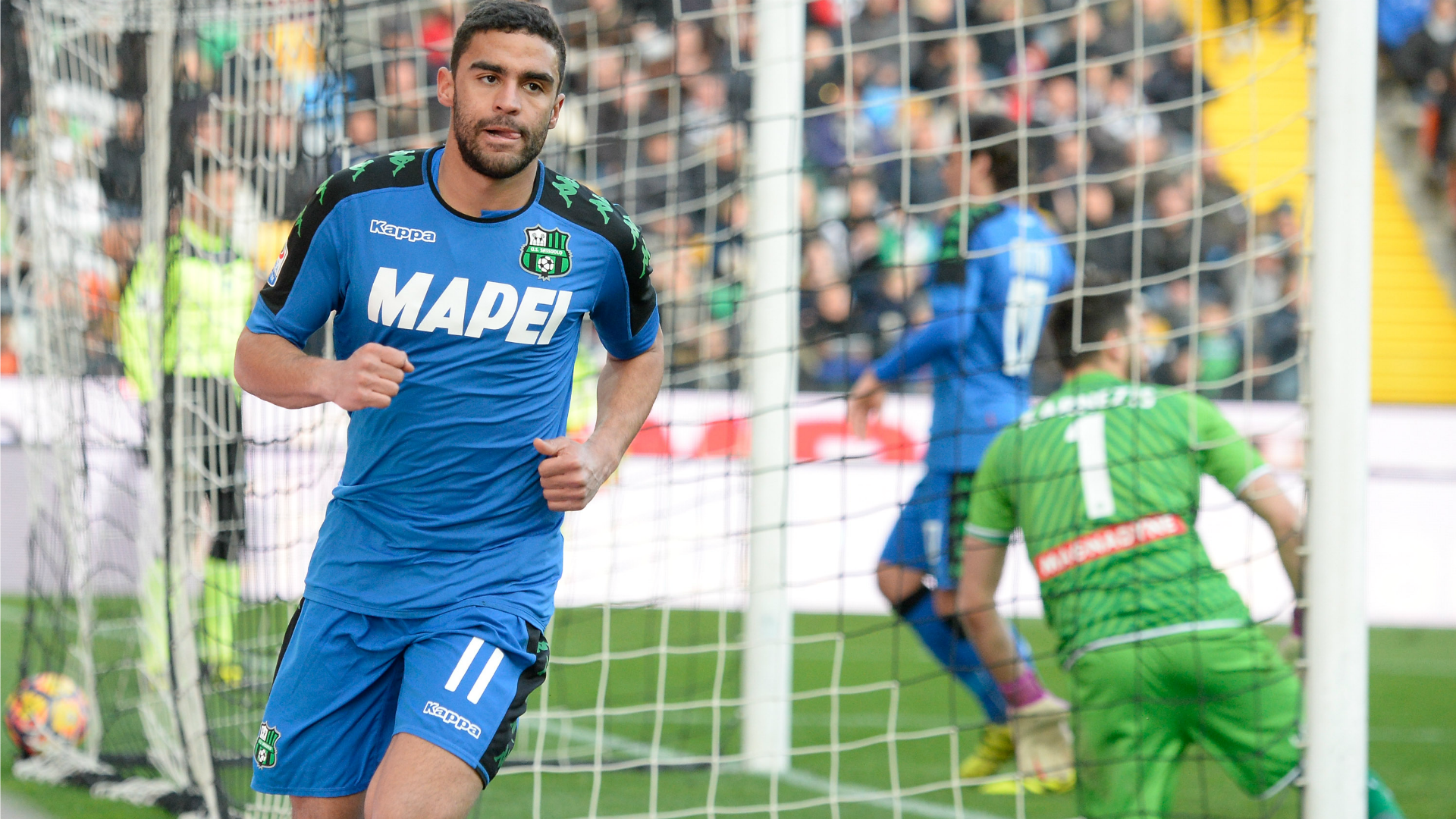 Gregoire Defrel Udinese Sassuolo Serie A