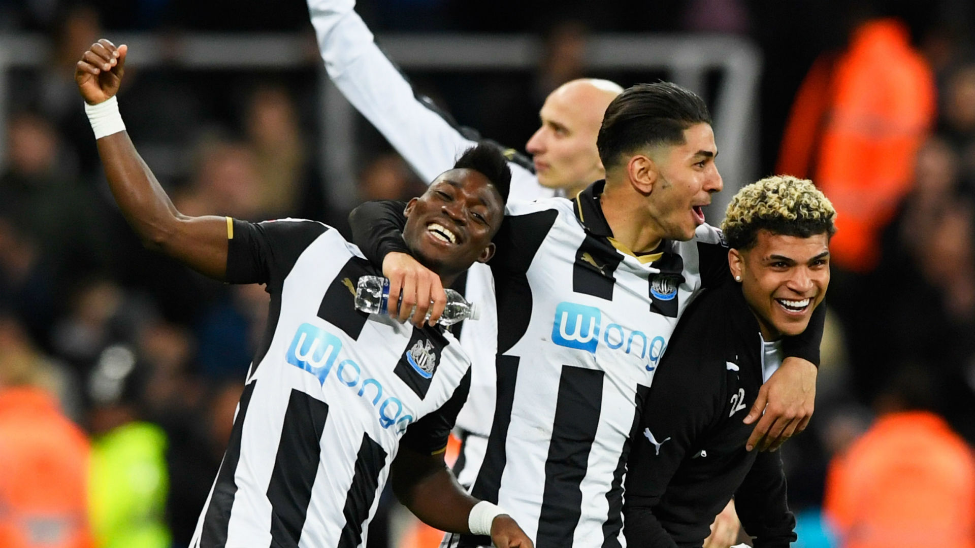 Christian Atsu - Newcastle United 24042017