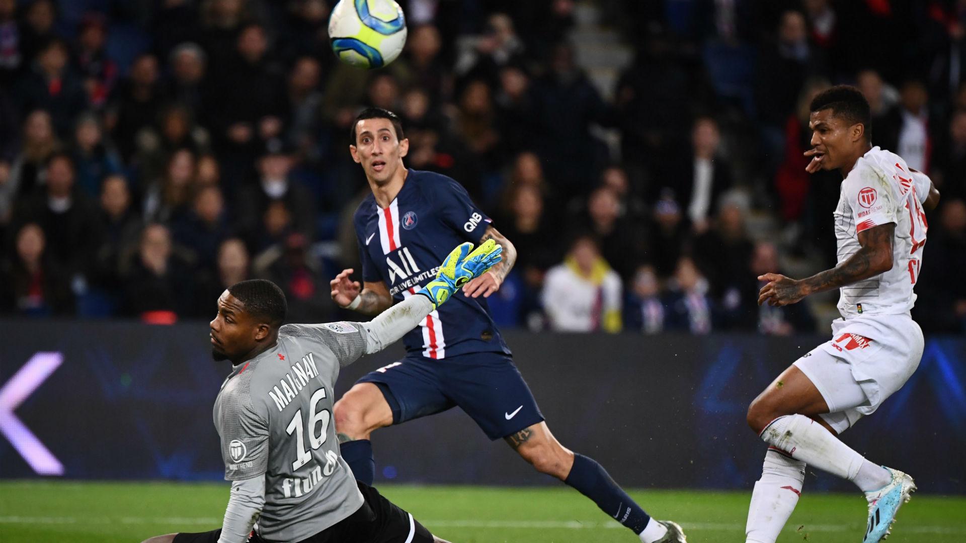 PSG-Lille (2-0) : sans trembler, Di Maria et les siens s'envolent en tête de la Ligue 1