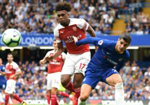 The Africans witnessed contrasting fortunes as the Blues silenced the Gunners with goals from Pedro Rodriguez, Alvaro Morata and Marcos Alonso