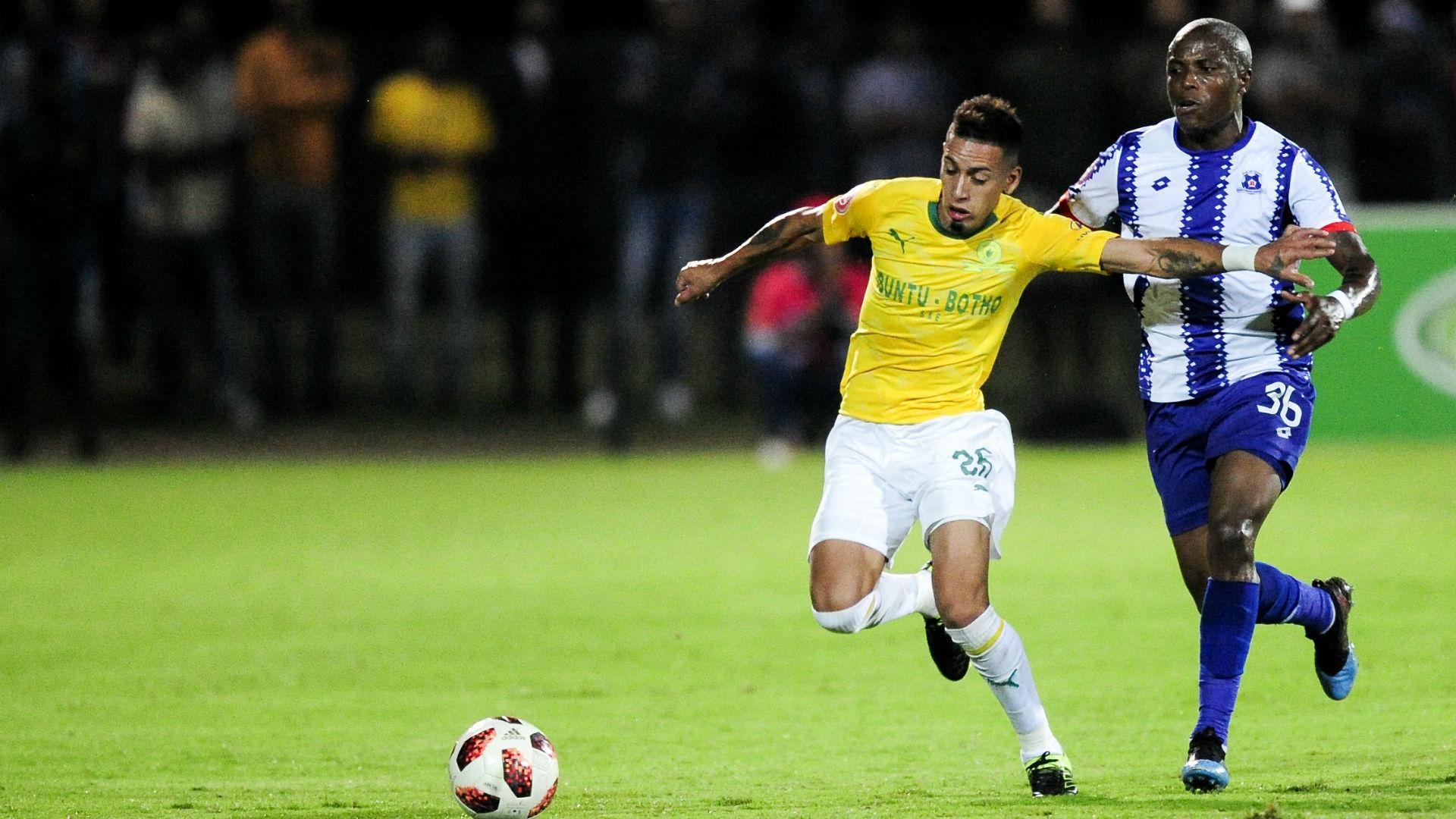 Sirino and Lakay combine to hand Mamelodi Sundowns victory over Maritzburg United