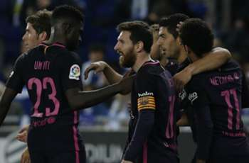 Luck of the champions? Barcelona squeeze past spoilers Espanyol to keep up title race
