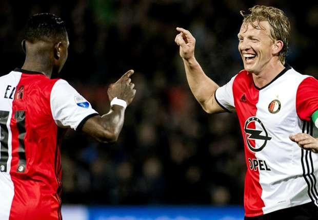 VIDEO - Feyenoord oppermachtig via Kuyt op rozen