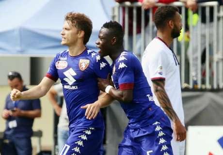 Afriyie Acquah scores, gets red card
