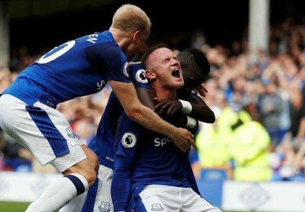 """REVIEW Liga Primer Inggris: """"Debut"""" Impian Wayne Rooney Di Goodison Park"""