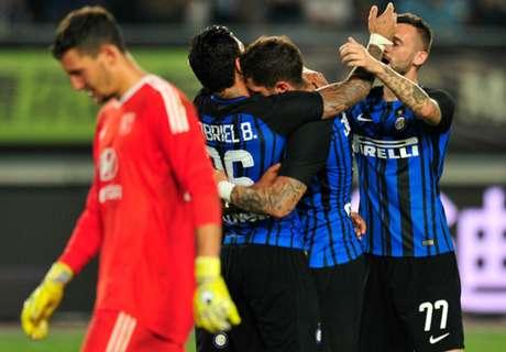 Riecco Jovetic: l'Inter supera il Lione